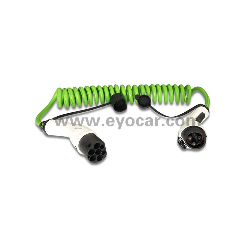 EV Cable Type 1 to Type 2 IP 65