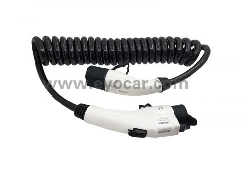 EV charging cable Type 1 to Type 2 TUV