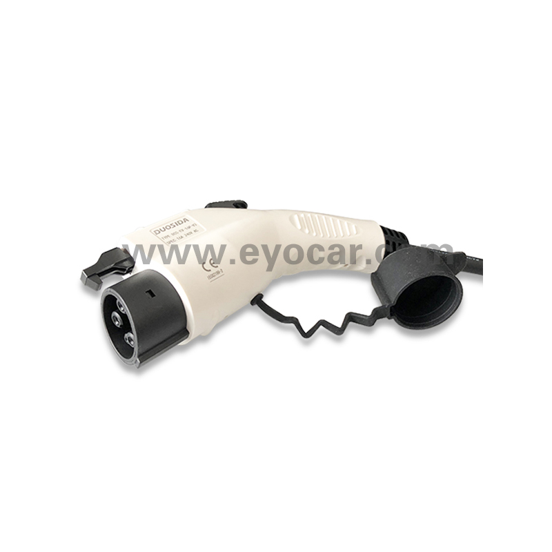Type 1 to Type 2 EV cable 16A 32A TUV (4)