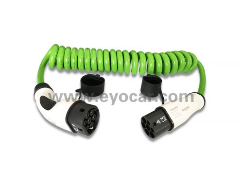 Type 2 to Type 2 EV charging cable with TUV CE