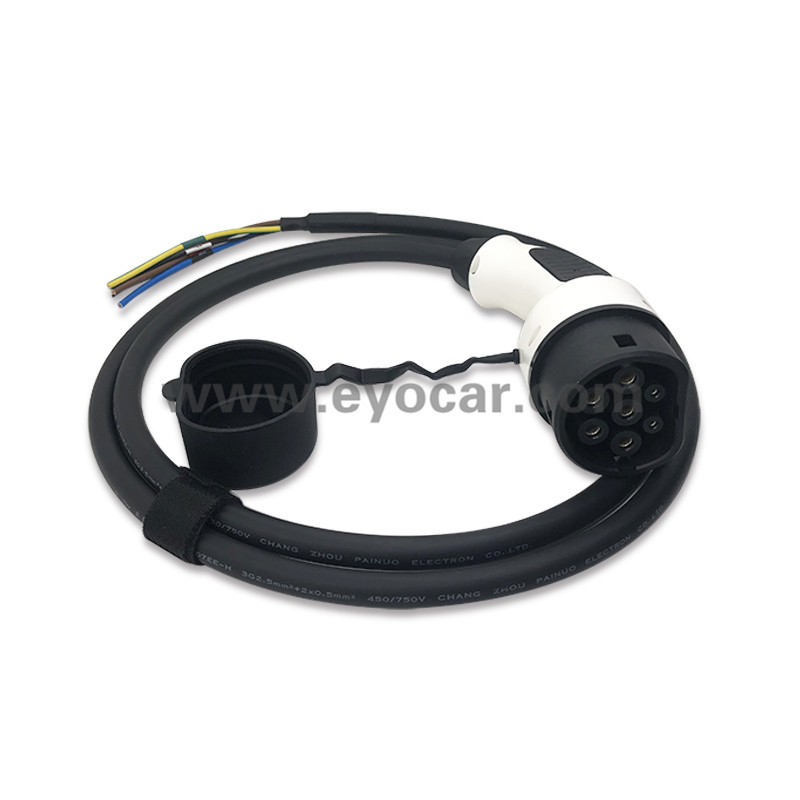 Type 2 plug with Cable 16A 32A TUV certificated (3)